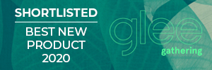 Shortlisted for best new product award at Glee 2020